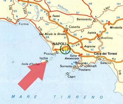 Ischia Map Alchemy Tours
