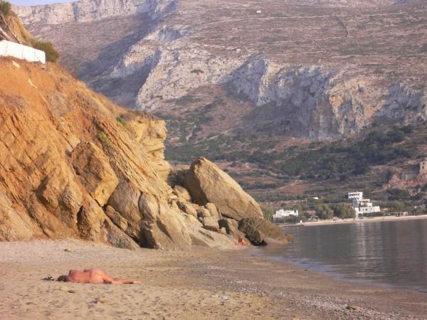 Levroso beach Amorgos
