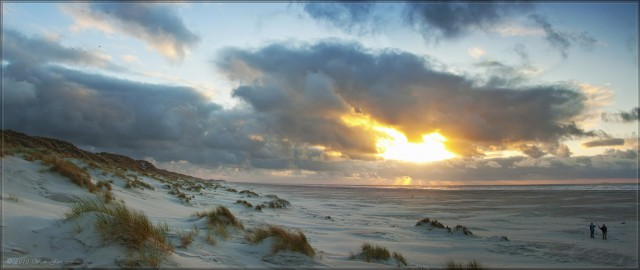 Sunset Panorama - Terschelling, The Netherlands