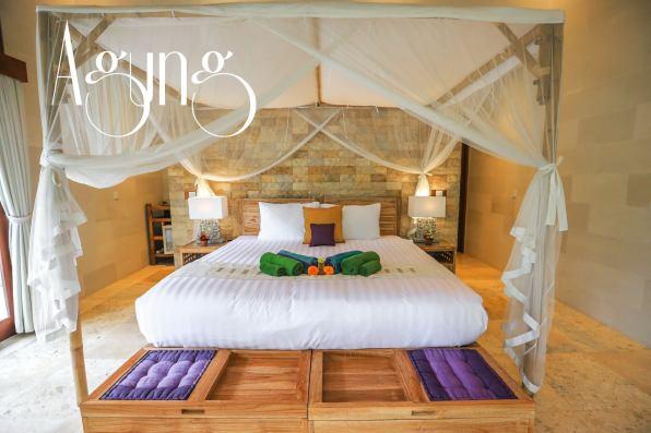Agung guest room villa shanti