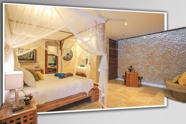 Catur triple with living room villa shanti