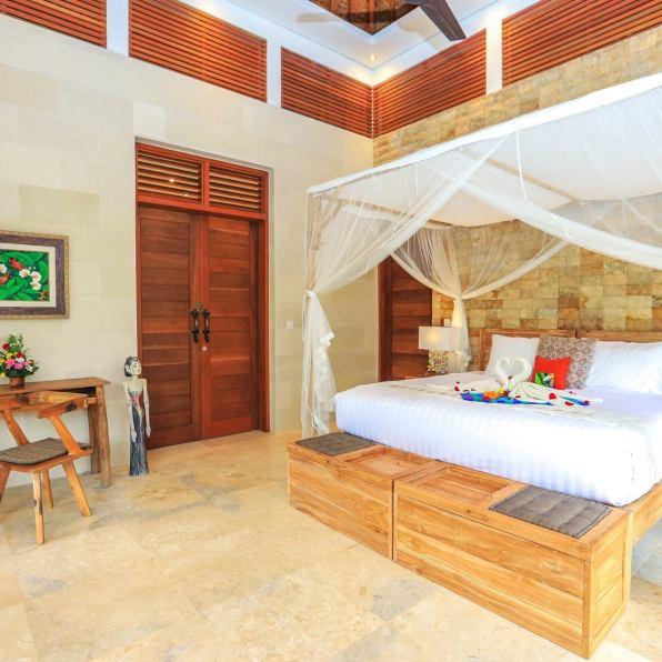 batukaru bedroom villa shanti