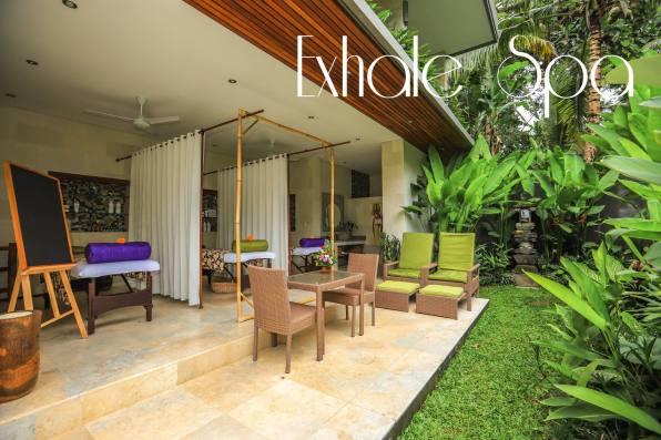 exhale spa villa shanti